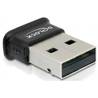 DeLOCK netwerkkaart: USB 2.0, Bluetooth V4.0 - Zwart