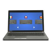 Toshiba installatieservice: Keyboard Upgrade Services for Satellite Pro with European Keyboard