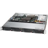 Supermicro server barebone: SuperServer 6018R-MT - Zwart