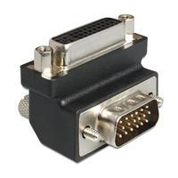 DeLOCK kabel adapter: DVI/VGA - Zwart