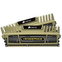 Corsair RAM-geheugen: 2x 4GB DDR3, 1600MHz, CL9 - Groen