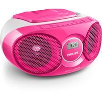Philips CD-radio: CD-soundmachine AZ215C/12 - Roze