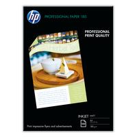 HP papier: Professional inkjetpapier, mat, 100 vel, A4/210 x 297 mm