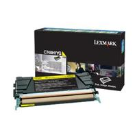 Lexmark toner: Toner Cartridge C 748 DE/DTE/E, Yellow, 10000 Pages - Geel