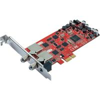 Terratec TV tuner: Cinergy S2 PCIe Dual - Grijs, Rood