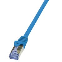 LogiLink netwerkkabel: 1.5m Cat.6A 10G S/FTP - Blauw