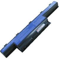 Acer batterij: 10.8V, 4400mAh, Li-ion, black - Zwart