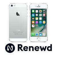 Renewd smartphone: Apple iPhone 5S - Zilver, Wit 16GB (Refurbished AN)