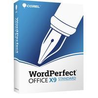 Corel WordPerfect Office X9 Standard Software suite