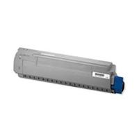 OKI cartridge: Toner voor B431 / MB491, Zwart, 12000 Pagina's