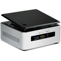 Intel barebone: NUC5i5RYH - Zwart, Zilver
