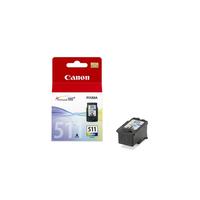 Canon inktcartridge: CL-511 - Cyaan, Magenta, Geel