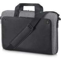 HP laptoptas: 15,6-inch Executive zwarte Top Load-tas - Zwart, Grijs