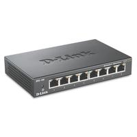 D-Link switch: DGS-108 - Zwart