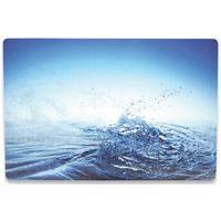 Manhattan laptop accessoire: 3-D Notebook Skin - Blauw
