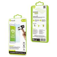 Muvit screen protector: Tempered Glass Screen Protector for Samsung Galaxy J5, 0.33 mm - Transparant