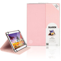 "Sweex Tablet Folio Case 8"" Pink Tablet case"