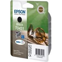 Epson inktcartridge: inktpatroon Black T0431 DURABrite Ink (high capacity) - Zwart