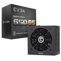 EVGA power supply unit: SuperNOVA 650 GS - Zwart