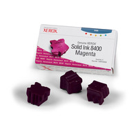 Xerox inkt stick: 3 COLORSTICK MAGENTA 3400SHT VOOR PHASER 8400 NS (NMS)