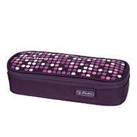 Herlitz potlood case: be.bag cube Spotlights - Multi kleuren, Paars