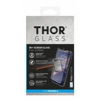 Thor screen protector: 9H+, FULL SCREEN, f/ Apple iPhone X - Zwart, Transparant