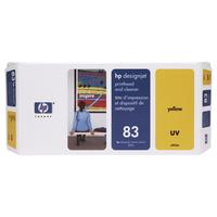 HP printkop: 83 gele DesignJet UV-printkop en printkopreiniger - Geel
