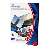 MediaRange fotopapier: DIN A4 Photo Paper for inkjet printers, dual-side matte-coated, 200g, 50 sheets - Wit