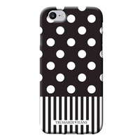 Area TRU7POIS Mobile phone case - Zwart, Wit