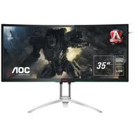 "AOC monitor: Gaming 88.9 cm (35"") , 3440 x 1440, 21:9, 300 cd/m2, 2000:1, 178/178, 4 ms, HDMI, Display Port, USB - ....."