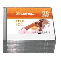 xlyne CD-R Xlyne 700MB 10pcs Slimcase 52x (1S10000)