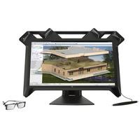 HP monitor: Zvr - Zwart