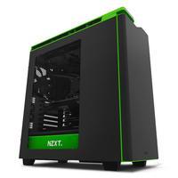 NZXT behuizing: Midi Tower, SECC Steel, ABS Plastic, Mini-ITX, MicroATX, ATX, USB 3.0 x 2, USB 2.0 x 2, 1xAudio/MIC - .....