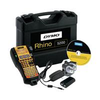 DYMO RHINO 5200 Kit - ABC Labelprinter - Zwart, Geel