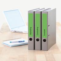 HERMA etiket: File labels A4 192x38 mm green paper matt opaque 140 pcs. - Groen