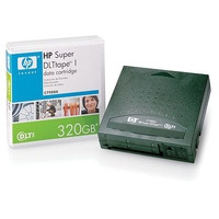 Hewlett Packard Enterprise datatape: SuperDLTtape I 220-/320-Gb datacartridge - Groen