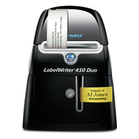 """DYMO LabelWriter LabelWriterâ""""¢ 450 DUO Labelprinter - Zwart,Zilver"""
