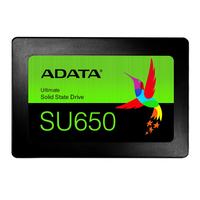 ADATA SU650 SSD - Zwart, Groen