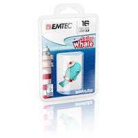 Emtec USB flash drive: Sailor Whale - Blauw