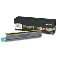 Lexmark cartridge: X925 7,5K gele tonercartridge - Geel