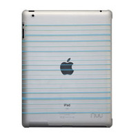 NUU BaseCase Stripe tablet case - Blauw