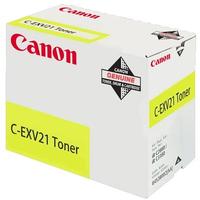 Canon cartridge: C-EXV21 - Geel
