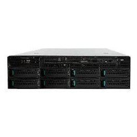 Intel Server System R2308IP4LHPC server barebone - Zwart