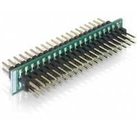DeLOCK kabel adapter: IDE/IDE - Zwart, Groen