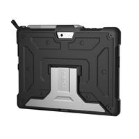 Urban Armor Gear Metropolis tablet case - Zwart, Zilver