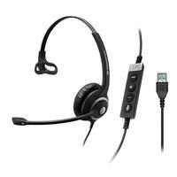 Sennheiser headset: SC 230 MS II - Zwart, Zilver