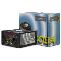 Inter-Tech power supply unit: Coba CS-650it 82+ - Zwart