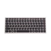 Lenovo notebook reserve-onderdeel: Notebook keyboard, black/silver - Zwart
