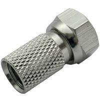 Schwaiger coaxconnector: FST8010 531 - Zilver