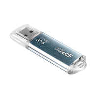 Silicon Power USB flash drive: Marvel M01 8GB - Blauw